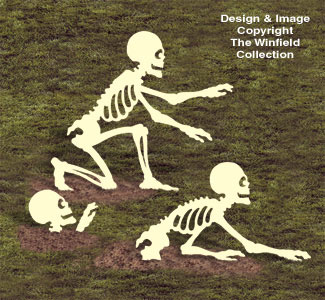 Rising Skeletons Woodcrafting Pattern