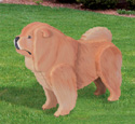 3D Life-Size Chow Chow Woodcraft Pattern