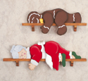 Lazy Mrs. Claus and Gingerbread Man Pattern