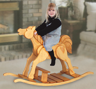 Plans For Large Rocking Horse
