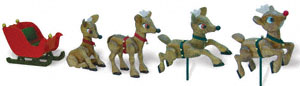 Reindeer In-Training Woodcraft Pattern