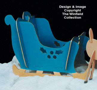Take Apart Sleigh Woodcraft Pattern