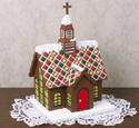 Ultimate Gingerbread Church Woodcraft Pattern