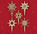 Shining Star Scroll Saw Ornaments Pattern