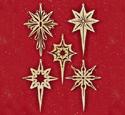 Shining Star Scroll Saw Ornaments Pattern