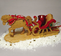 Horse Drawn Sleigh Woodcraft Project Plan