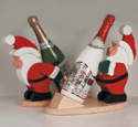 Santa Wine Holders Woodcrafting Project Plan