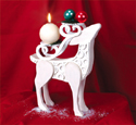 Stylish Reindeer Display Pattern