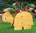 Turtle Flower Pot Planter Wood Plan