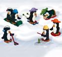 Miniature Penguins Woodcraft Pattern