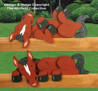 Horse Rail Pets Woodcrafting Plan