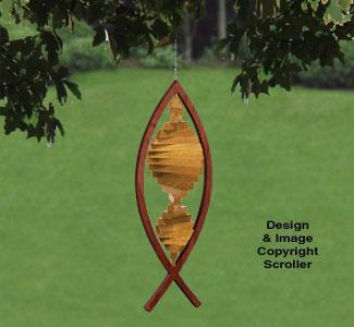 Wind Whirlers - Fish Pattern