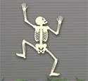 Climbing Skeleton 2 Woodcrafting Pattern