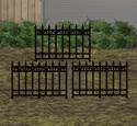 Graveyard Fence Woodcraft Pattern