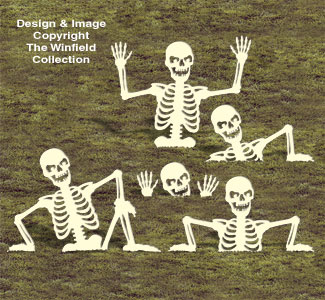 Rising Skeletons 2 Woodcrafting Pattern