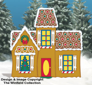 Gingerbread Manor Woodcraft Pattern