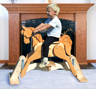rocking horse glider plan