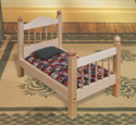 Doll Bed Wood Pattern