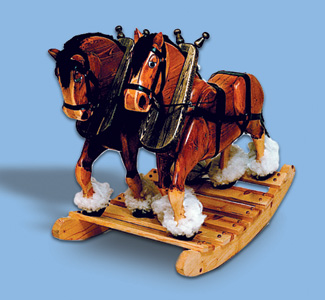 clydesdale rocking horse plans