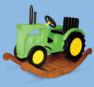Wooden Rocking Tractor Plans