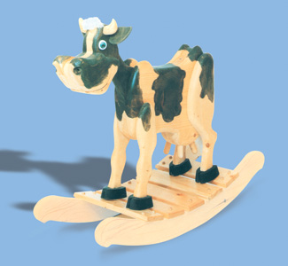 Rockers Bessie The Cow Rocker Plans