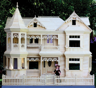 Play Houses Victorian Barbie House Plans