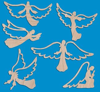 Host of Angels Ornament Patterns