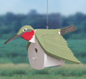 Hummingbird Birdhouse Wood Pattern