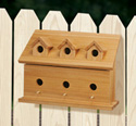 One-Sided Cedar Birdhouse Wood Pattern