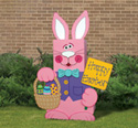 Large Patio Paver Bunny Pattern