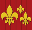 Fleur De Lis Wall Decor Woodcraft Pattern