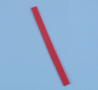 Red Plastic Strip