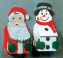 Santa and Snowman Mailbox Patterns