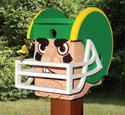 Football Helmet Birdhouse Pattern