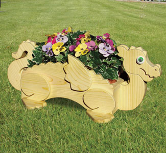 Flower Planter Woodworking Plans