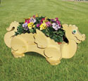 Dragon Flower Pot Planter Wood Plan