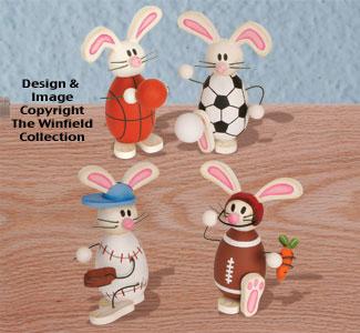 Sport Bunnies Woodcraft Plan