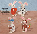 Sport Bunnies Woodcraft Plan