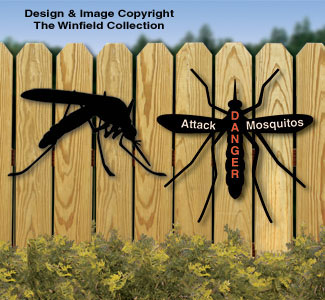 Mosquito Shadows Woodcrafting Pattern