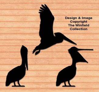 Pelican Shadows Woodcrafting Pattern