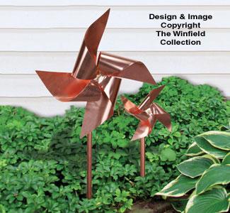 Copper Pinwheels Pattern