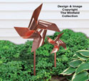 Copper Pinwheels Pattern