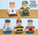 Military & Public Service Patio Paver Pals Pattern
