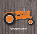 Small Allis Chalmers Tractor Wall Decor Pattern