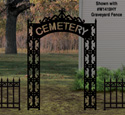 Graveyard Entrance Woodcraft Pattern