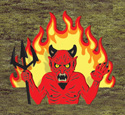Rising Devil Woodcraft Pattern