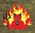 Rising Devil Woodcraft Pattern