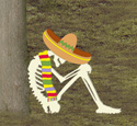 Skeleton Siesta Woodcraft Pattern