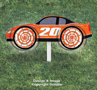 Race Car Whirly Wheels Plan