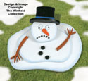 Melting Snowman Woodcraft Pattern
